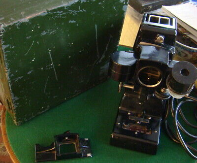 Rare Military c.1946  BAF Ltd Slide/Film Projector needs lens