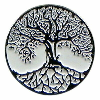 Yggdrasil The Tree of Life Gothic Enamel Lapel Pin Badge T1268