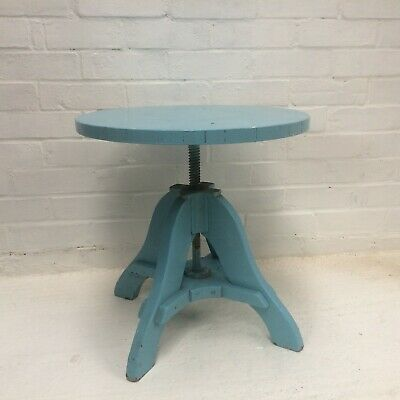 Sculptor's table Revolving adjustable top Mid century 1950s