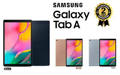 "New Samsung Galaxy Tab A 10.1"" Tablet Pc Sm T510 2019 32Gb Black Silver Gold"