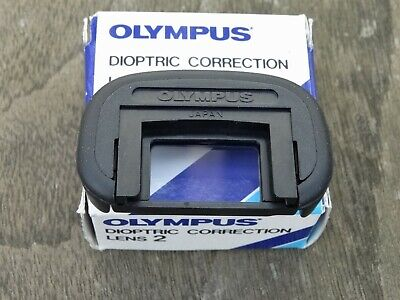New Genuine Olympus Eyecup 2 with +2 Diopter -  For Olympus OM Series 35mm SLR's