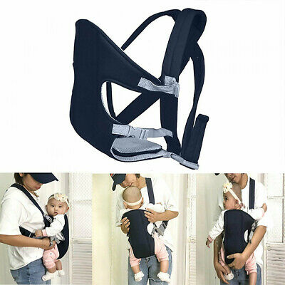 Newborn Infant Adjustable Comfort Baby Carrier Sling Rider Backpack Wrap Strap Z