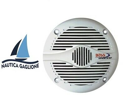 Casse Marine Nautiche Boss Marine Mr50w Speaker 150w altoparlanti full marinized