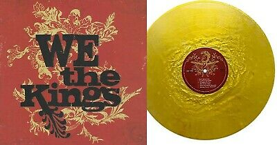 We The Kings ‎- Exclusive Limited Golden Nugget Swirl Colored Vinyl LP #/300