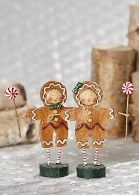 ESC Trading - Lori Mitchell - Christmas - Gingerbread Boy & Girl Set- 93916
