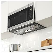 Ikea BETRODD Microwave oven with extractor fan