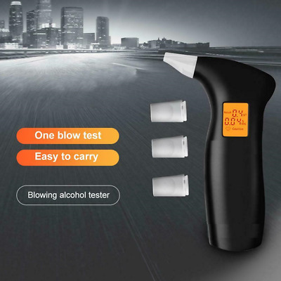 Police Breath Alcohol Tester Digital Analyser Detector Breathalyser CLEARANCE UK