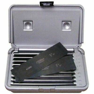 """Brand  New Fowler 52-437-031 10 Pr 1/32""""T Ultra-Thin Parallel Set in Case"""