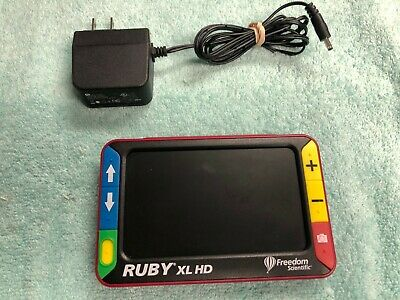 Lightly Pre-Owned Freedom Scientific Ruby XL HD Portable Low Vision Magnifier