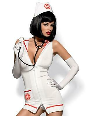 Emergency Dress And Stethoscope in White by Obsessive - Australian Stock