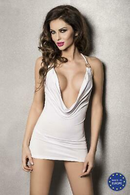 Mini Dress Miracle White in White by Passion - Australian Stock
