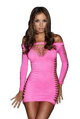 Single Lady Mini Dress in Pink by X-gen - Australian Stock