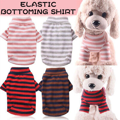 Small Pet Dog Puppy Warm Sweater Clothes Coat Jacket Pullover Costume Apparel