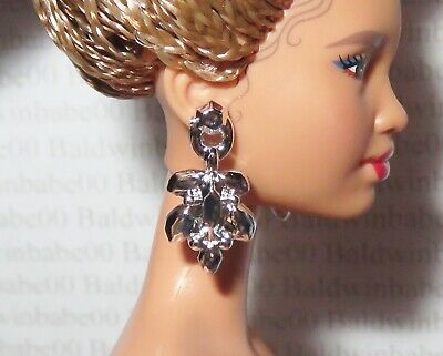 JEWELRY BARBIE DOLL MATTEL CAFE SOCIETY FAUX GOLD BROWN BEAD BRACELET ACCESSORY