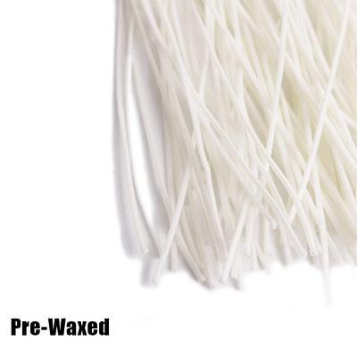 Pre Cotton Waxed Candle Wicks for Candle Making with Sustainers MK8C