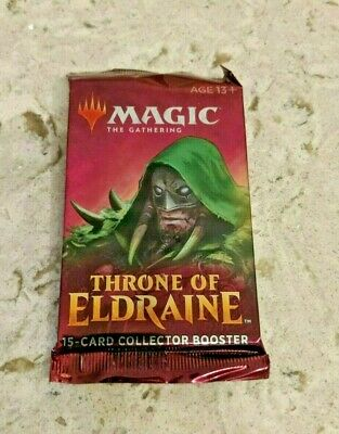 Throne of Eldraine COLLECTOR'S BOOSTER PACK - Magic the Gathering (Free Ship)