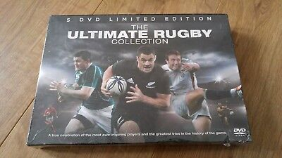 The Ultimate Rugby Collection 5 Disc DVD Box Set Sports world cup six nations