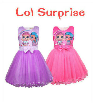 LoL Surprise Doll Party Holiday Regalo per bambini Ragazza Princess Dress Party