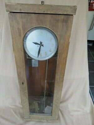 Large Heavy Hipp Toggle Russian Eastern European Electric Master Clock For Spare
