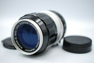 【NEAR MINT】Nikon Nikkor-Q Auto 135mm F/3.5 Non-Ai MF Lens From JAPAN # 257