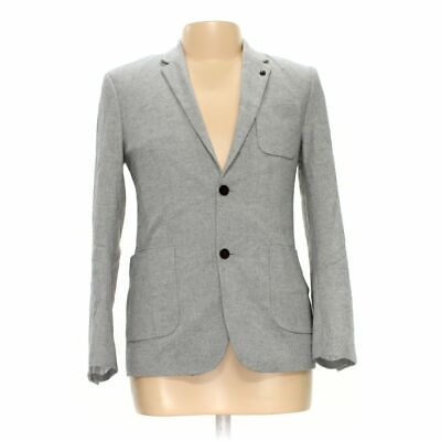 7 DIAMONDS Men's Blazer size M,  grey,  polyester, wool,  new with tags