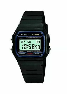 Casio Retro F91-W Classic Casual Water Resistant Digital Wrist Watch (Unisex)