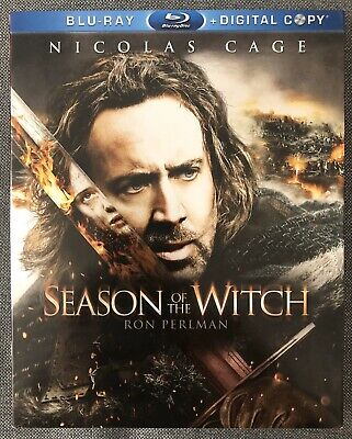 Season of the Witch (Blu-ray Disc, 2011, Includes Digital Copy) with Slipcover