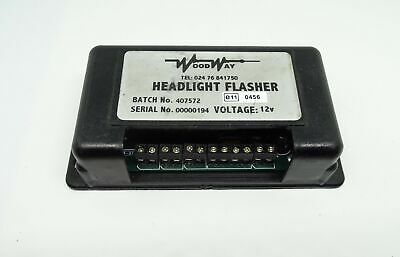 Woodway HF1000 Headlight Flasher 12v For Recovery Vehicles Etc Whelen