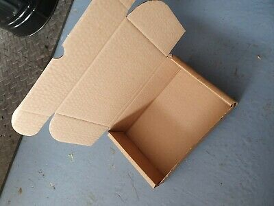 54 X Brown Shipping Cardboard Boxes Postal Mailing Gift Packet Small Parcel