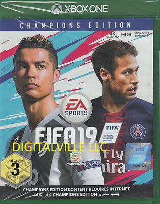 Fifa 19 Champions Edition Xbox One Brand New Factory Sealed
