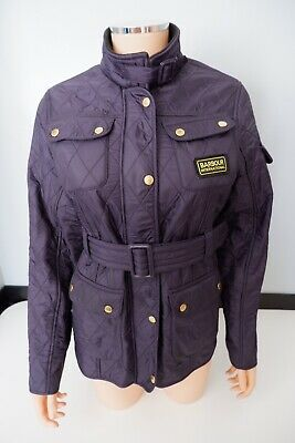 Barbour Blue Coat Jacket Size XXL Age 14/ 15 Years VGC Girls Quilted