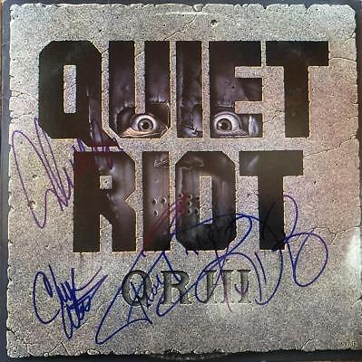 Quiet Riot- Record Album Signed by all 4 Band Members