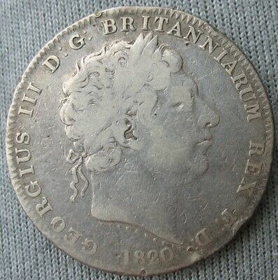 1820/19-LX Great Britain Silver Crown