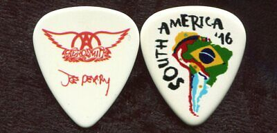 AEROSMITH 2016 South American Tour Guitar Pick!!! JOE PERRY custom concert stage