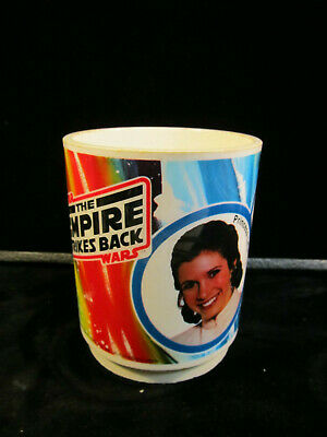 1980 Star Wars, The Empire Strikes Back, Princess Leia, Luke Skywalker  Deka Cup