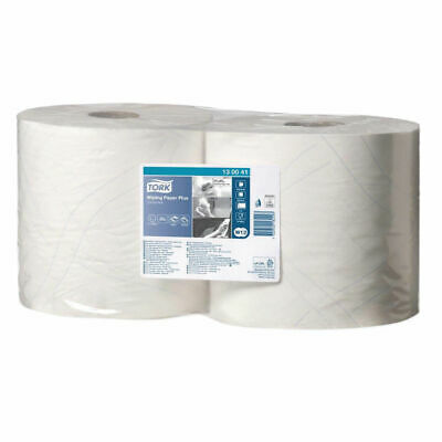 NEW! Tork Giant Centrefeed Roll 2-Ply 255m White Pack of 2 130041