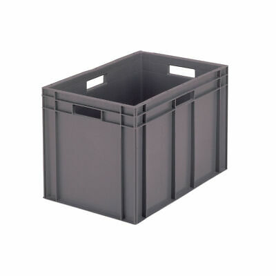 NEW! VFM 600x400x412mm Grey European Stacking Container 307377