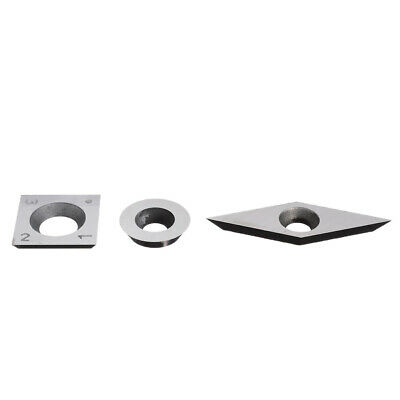 3 Pcs/lot Tungsten Carbide Inserts Cutter Set For Wood Working Turning Tool Kits