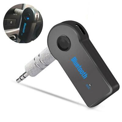 Adapter Car 3.5mm Bluetooth MP3 AUX Mic Music 4.0 Audio Stereo Built-in Receiver