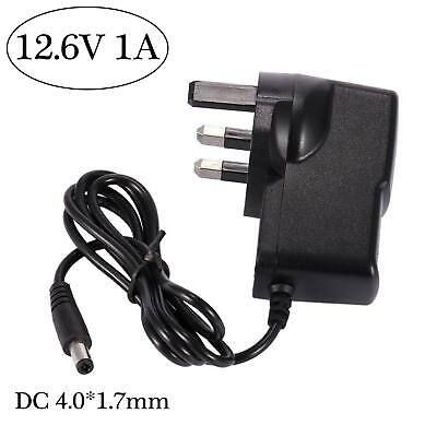 4.2V 1A Power Supply Adapter Charger 2.5//3.5//4//5.5mm AC100~240V UK Plug AC to DC