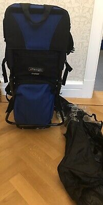 Vango Champ Baby / Child Back Carrier. With Brand New Raincover.
