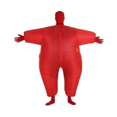 Inflatable Fat Chub Fancy Dress Stag Hen Party Costume Halloween Jumpsuit DA
