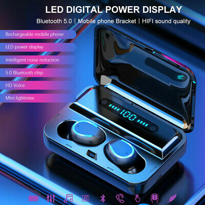 (Last Day 75% OFF!!!)2019 Latest Style Touch Control Wireless Earbuds Waterproof