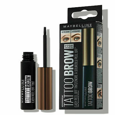 ❤❤ Maybelline Tattoo Brow Easy Peel Off Long Lasting Eyebrow Tint WARM BROWN ❤❤