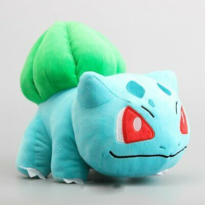 "6""-12'' Bulbasaur Pokemon Plush Toy Soft Stuffed Animal Doll Teddy Xmas Gift"