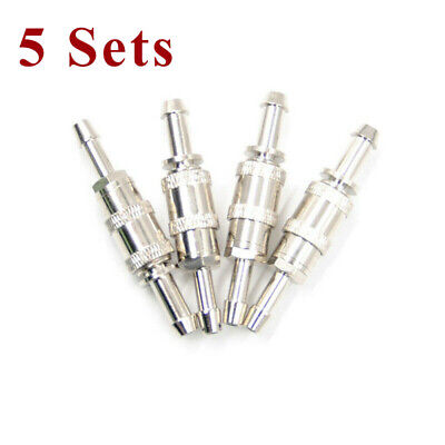 10PC NIBP Air Hose Aadpt Cuff Connector Blood Pressure Quick Male Bayonet socket