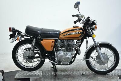 1975 Honda CL360K1 Unregistered US Import Barn Find Classic Restoration Project