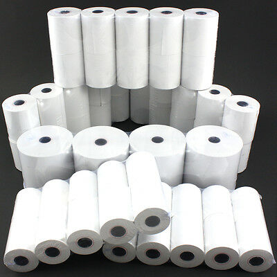 20 Rolls 57 x 40mm Credit Card PDQ Till Thermal Paper Roll Cash Register Receipt