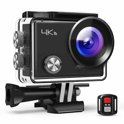 APEMAN Action Camera 4k Wifi Sports for Vlog Waterproof 30M with Remote Control