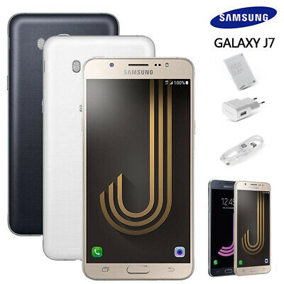 SAMSUNG Galaxy J7 J710F Black White Gold Dual SIM Android Phone Factory Unlocked